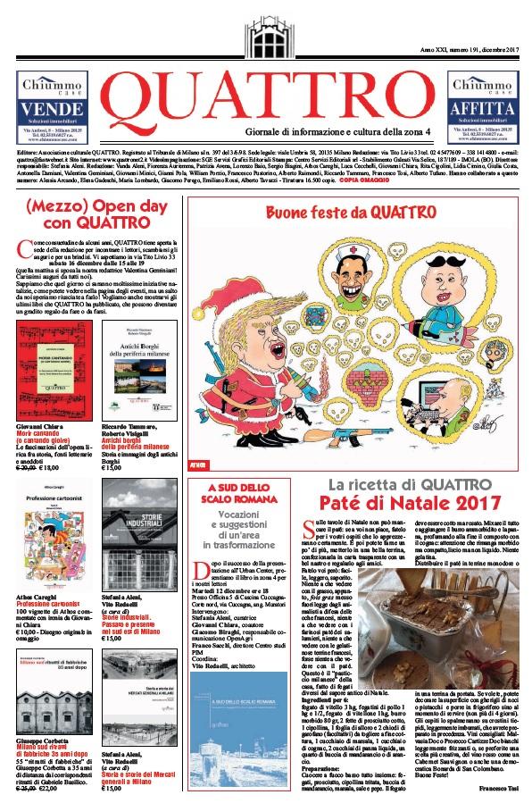 Il numero di dicembre 2017