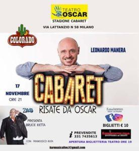 """Risate da Oscar"": arriva Leonardo Manera"