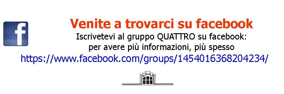Vi aspettiamo su facebook